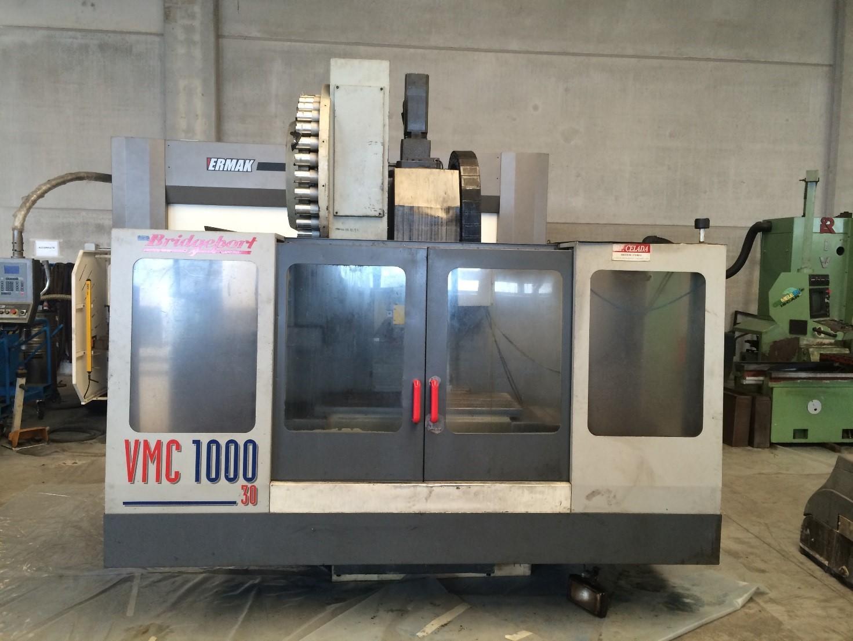 CENTRO DI LAVORO VERTICALE BRIDGEPORT  MOD. VMC1000-30  USATO